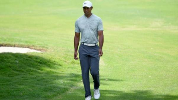 Golf: Tiger Woods perd du terrain