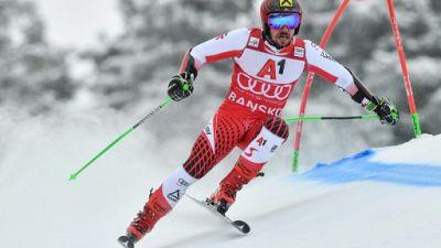 Ski alpin: Hirscher impérial dans la première manche du géant à Bansko