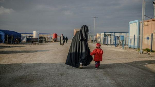 Syrie: dans la boue et le froid des camps, trois petits orphelins français en sursis