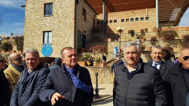 Tajani visita Comunità Incontro Amelia