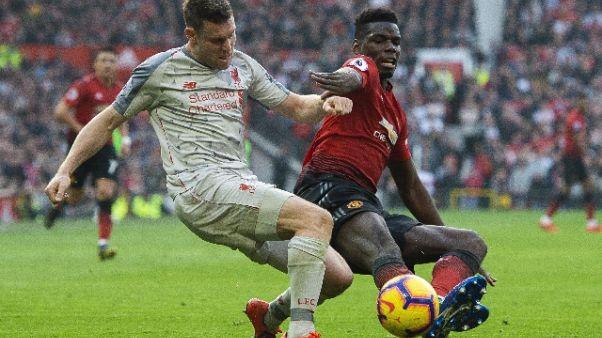 Il Liverpool frena, 0-0 con lo United