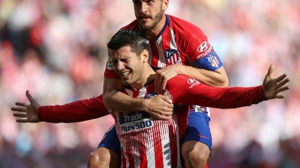 L'Atletico Madrid vince anche nella Liga