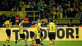 Dortmund back to winning ways by edging Leverkusen 3-2