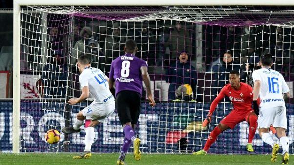 Serie A: Fiorentina-Inter 3-3