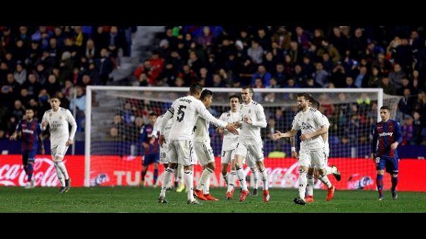 Spagna: Real Madrid di rigore
