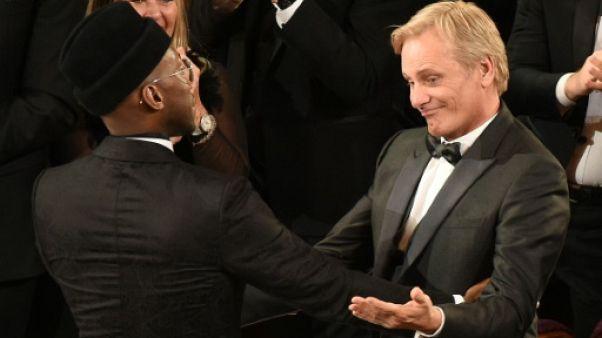 Mahershala Ali et Viggo Mortensen aux Oscars le 24 février 2019