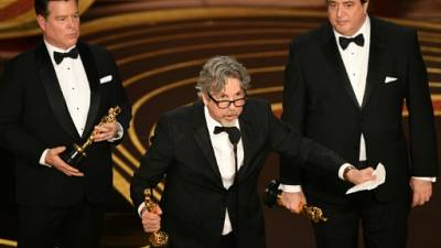"""Oscars: """"Green Book"""" arrache la récompense suprême, triplé pour """"Roma"""""""