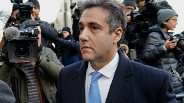 Michael Cohen arrive au tribunal, le 12 décembre 2018 à New York