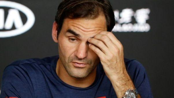 Tennis: rentrée compliquée pour Federer face à Kohlschreiber à Dubaï
