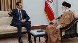 الأسد يجتمع مع خامنئي في أول زيارة لإيران منذ بدء الحرب