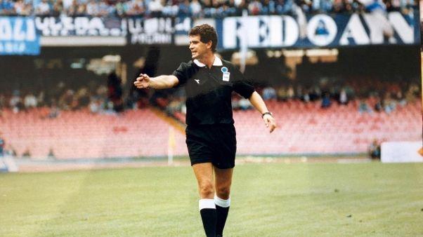 Calcio: morto l'ex arbitro Rosica