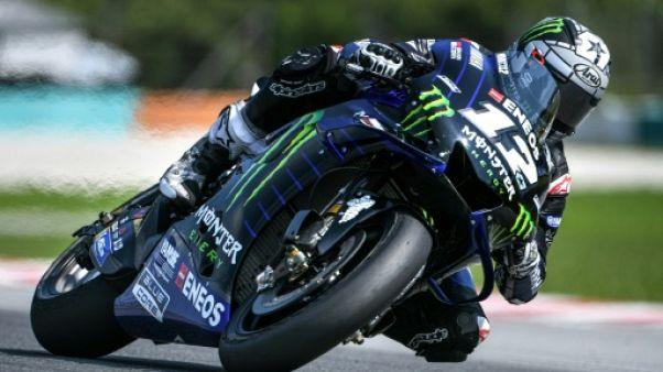 MotoGP: Vinales domine les derniers essais de présaison au Qatar