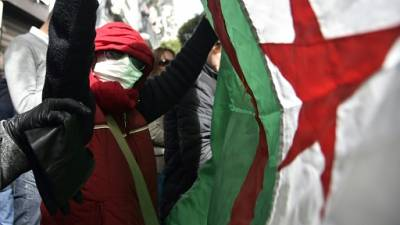 """A Alger, des étudiants avides de """"changement"""" contre un 5e mandat de Bouteflika"""