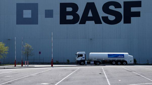 Germany's BASF fourth-quarter EBIT slumps on lower earnings from basic petrochemical unit