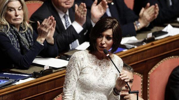 Governo: Bernini (FI), è un freno a mano