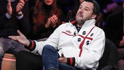 Salvini, avanti come treni