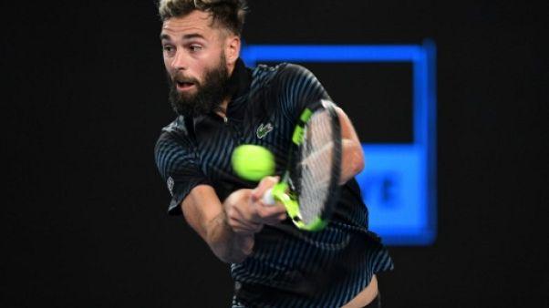 Tennis: Paire et Moutet au tapis à Dubaï