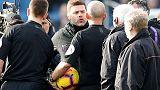 Tottenham's Pochettino accepts FA charge, apologises to referee