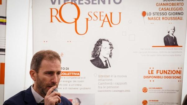 Garante privacy,Rousseau può avere bachi