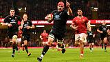 Rugby - Wales lose lock Hill for rest of Six Nations