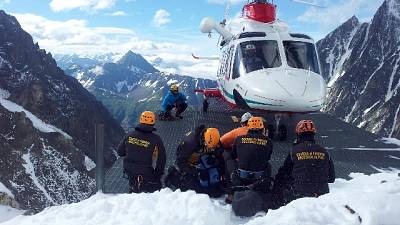 Alpinista muore su massiccio M.Bianco
