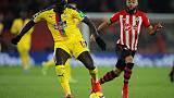 Palace defender Sakho to miss Man United clash with injury