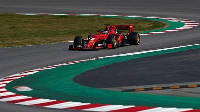 Vettel, avuto un pomeriggio impegnativo