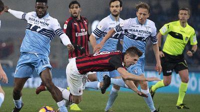 Coppa Italia: Lazio-Milan 0-0