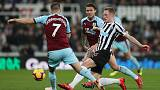 Newcastle end Burnley's unbeaten run to move up to 13th