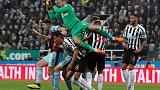 Newcastle edge away from danger, Leicester end slump