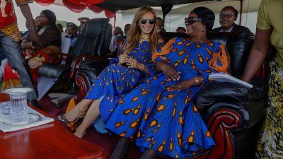 La Fondation Merck rencontre Le Président et La Première Dame de Zambie pour lancer leurs programmes dans le pays