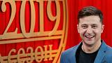 Comedian takes centre stage in Ukraine's presidential race