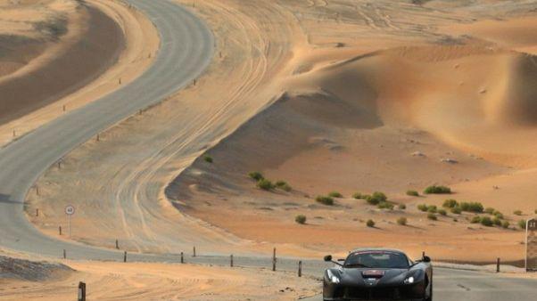Ferrari,Cavalcade per 25 anni in Emirati