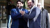 Salvini, ho dato mia parola,si va avanti