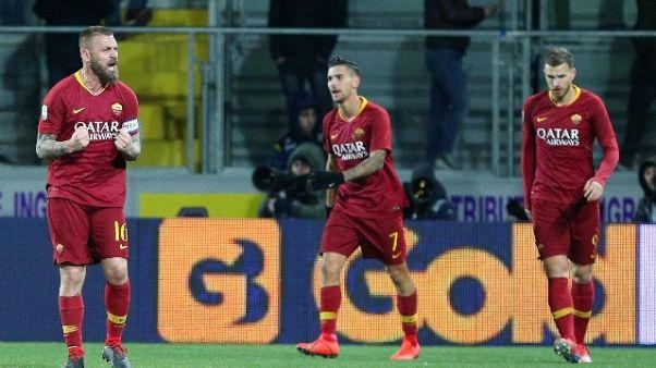 Confermato: Roma-Lazio sabato alle 20,30