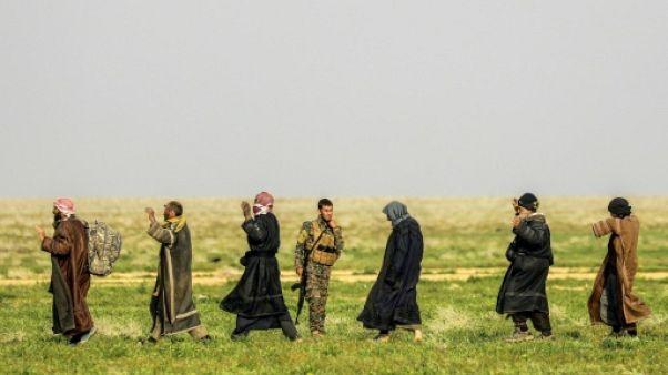 Fuir ou mourir: les jihadistes divisés dans le dernier réduit de l'EI en Syrie
