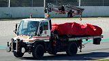 فيتل يتعرض لحادث وساينز الأسرع مع مكلارين في تجارب فورمولا 1