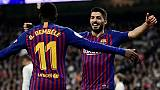Coupe du Roi: le Barça corrige le Real pour une 6e finale de rang