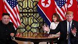 ترامب وكيم يستأنفان المحادثات في اليوم الثاني من قمتهما بفيتنام