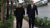 البيت الأبيض: ترامب وكيم لم يتوصلا لاتفاق في اجتماع فيتنام