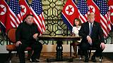 كوريا الجنوبية: نأسف لعدم توصل ترامب وكيم لاتفاق لكن تقدما تحقق