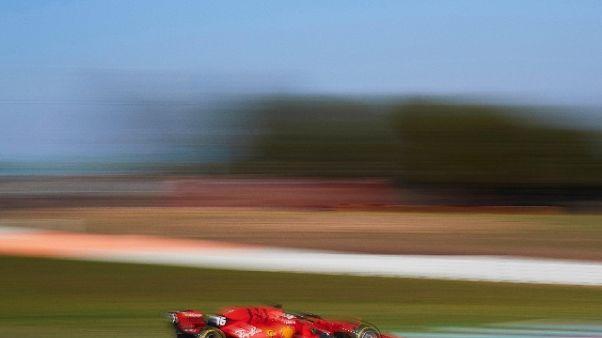 F1: test Barcellona,vola Ferrari Leclerc