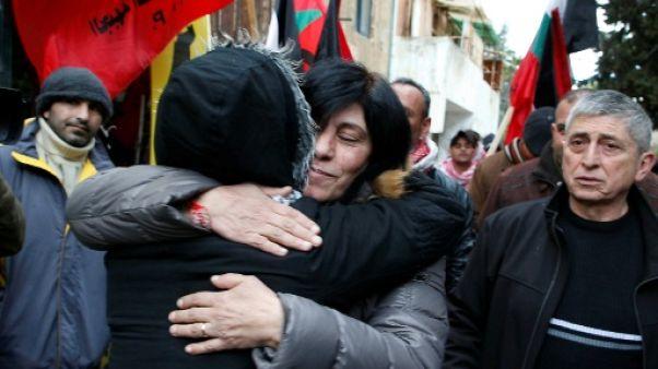 Israël libère une députée palestinienne après 20 mois de détention