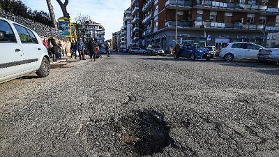 Manutenzione strade Roma, indaga C.Conti