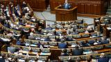 Ukraine president tries to salvage corruption law as tough election looms