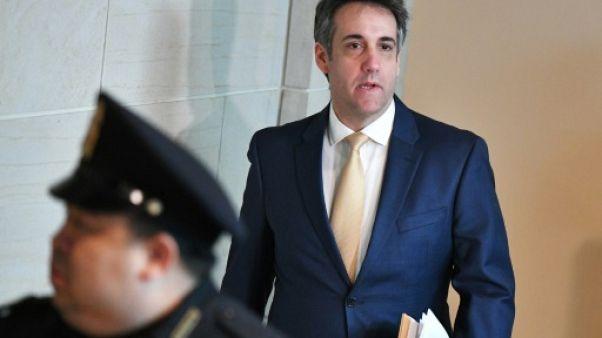 L'ex-avocat de Trump de retour au Congrès pour une audition à huis clos