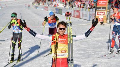 Mondiaux de ski nordique: la Suède remporte le relais dames, Riiber sacré en combiné nordique