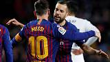 Barca extend Alba's contract, include release clause