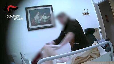 Anziani maltrattati, esami tossicologici
