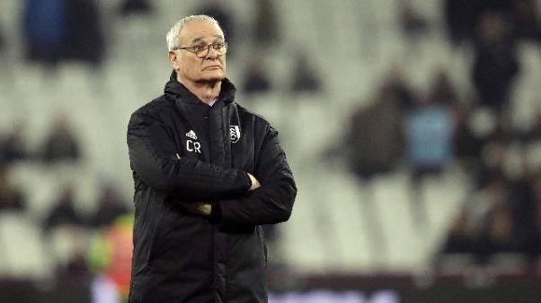 Fulham penultimo, esonerato Ranieri